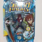 "2007 Storm Hawks 6"" Deluxe Action Figure with Bonus DVD- Aerrow"
