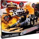 Power Rangers Super Samurai Fire Tiger Tank Zord with Red Samurai Ranger