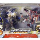 Transformers Prowl w/Longarm & Starscream w/Zapmaster 2005 Sam's Club Exclusive