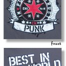 "WWE Authentic CM Punk ""In Punk We Trust"" Premium T-Shirt Gray Small"