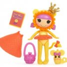 Kitty B. Brave Wizard of OZ Mini Lalaloopsy Doll with Pet