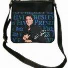 Elvis Presley King of Rock Messenger Bag