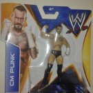 "CM Punk Mattel WWE 3 3/4"" Static Pose Action Figure"