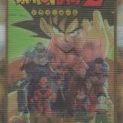 Dragon Ball Z Fighters #16- 1989 Dragonball Z Gold Series 3D Prism Italian Lenticulari Trading Card