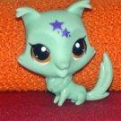 Collie #3528- Littlest Pet Shop Paint Splashin' Pets