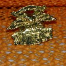 Harley Davidson Eagle Made in USA Raintree Buckles & Jewelry Inc. Collectible Gold Plated Lapel Pin