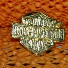 """Harley Davidson """"Classic"""" Logo Raintree Buckles & Jewelry Inc. Collectible Gold Plated Lapel Pin"""