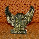 """Harley Davidson """"HD Eagle 2"""" Logo Raintree Buckles & Jewelry Inc. Collectible Gold Plated Lapel Pin"""