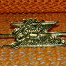 """Harley Davidson """"Script"""" Logo Raintree Buckles & Jewelry Inc. Collectible Gold Plated Lapel Pin"""