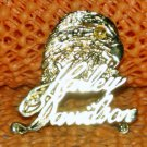 """Harley Davidson """"Eagle Script"""" Logo Raintree Buckles & Jewelry Inc. Collectible Gold Plated Pin"""