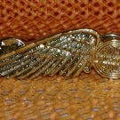 """Harley Davidson """"The Wing"""" Logo Raintree Buckles & Jewelry Inc. Collectible Gold Plated Pin"""