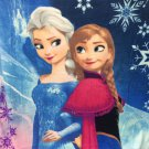 Disney Frozen Anna & Elsa Sisters Forever Twin Size Blanket 59 X 78 Inches
