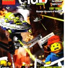 Lego Club Magazine w/Heroica Poster July-August 2011