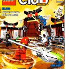 Lego Club Magazine w/Ninjago Poster January-February 2011