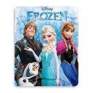 "Disney Frozen Fleece Throw Elsa, Anna, Kristoff, Olaf 50"" L x 40"" W"