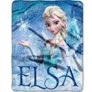 "Disney Frozen Elsa Palace Ultrasoft Plush 40"" x 50"" Throw Blanket"