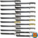 Takedown Full Tang Undead Zombie Slayer Machete 21 Pc Set with Sheaths