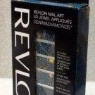 Revlon Nail Art 3d Jewel Appliques Denim & Diamonds- 02 It's Riveting