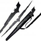 Batman Dark Knight Bat Lightning Bolt Sword with Sheath