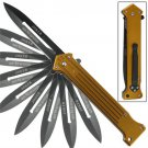 Joker Dark Knight Why So Serious Spring Assisted Knife- Bronze