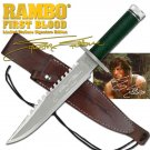Rambo First Blood 1 Limited Signature Edition Replica Knife with Survival Kit