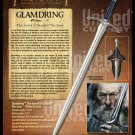 The Hobbit Glamdering Sword of Gandalf the Grey by United Cutlery