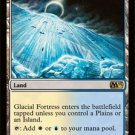 Glacial Fortress #225/249 Magic The Gathering MTG 2013 Core Set Black Land Rare