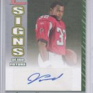 2006 Bowman Signs of the Future Autograph Jerious Norwood #SF-JN