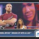 2013 Topps Best of WWE #3 - Daniel Bryan breaks up with AJ Lee