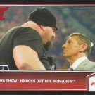 2013 Topps Best of WWE #17 - Big Show knocks out Mr. McMahon
