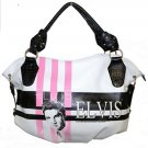 Elvis Pink Fifties Synthetic Leather Shopper Tote