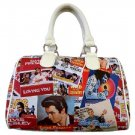 Elvis Presley Biography Synthetic Leather Small Satchel