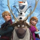 Disney's Frozen Out In The Cold Fleece Blanket