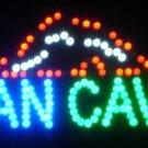 19x10 Man Cave Motion LED Sign
