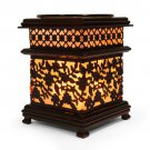 Metal Asian Floral Style Oil Warmers