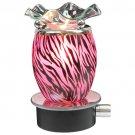Pink Tiger Print Plug In Oil Warmer