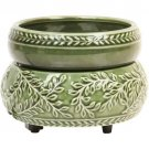 Green Ivy Electric 2 IN 1 Ceramic Candle Warmers