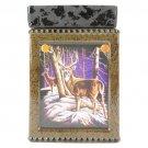 Deer Design Tall Tart Warmer Lamp