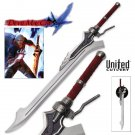 Devil May Cry Red Queen Sword of Nero with Certificate of Authenticity