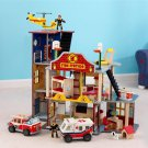 Deluxe Fire Rescue Set by KidKraft (Hot Wheels and Matchbox Compatible)