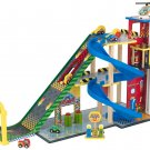 Deluxe Mega Ramp Racing Set by KidKraft (Hot Wheels and Matchbox Compatible)
