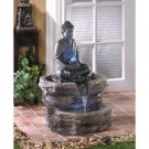 Zen Buddha Serenity Water Fountain