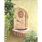 Greco-Roman Styled Lion Head Wall Water Fountain