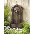 European Palace Style Lion`s Head Courtyard Water Fountain