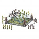 Mythical Fairy Battle Premium 3-D  2 Tier Chess Set