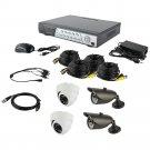 Spyclops Dvr Kit With 2 Dome Cameras & 2 Bullet Cameras