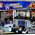 WWE Stackdown The Shield Tactical Training Center 21022 Set with Ambrose , Rollins , Reigns