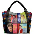 Elvis Presley Synthetic Leather Hollywood Shopping Bag