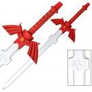 Red Shadow Master Foam LARP Training Sword- The Legend of Zelda
