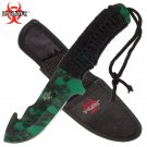 FULL TANG Zombie Z-Slayer Combat / Hunting Knife with Gut Hook
